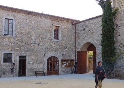 01 Le monastère de Sainte Croix ouvre ses portes à nouveau à la promo 2 de Naturilys