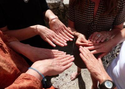 11 Observation des lunules des ongles,signe de vitalité