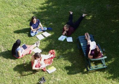 13 Séance de révision des cours en sous groupe en mode résidentiel