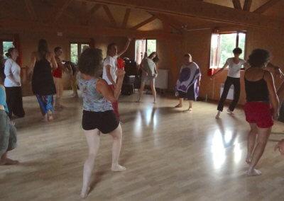 2)Atelier de Danse Médecine avec François Delonnay