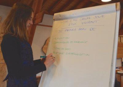 4)Virginie Bourgogne cofondatrice et directrice de l'école Naturilys
