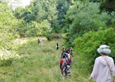 6)Promenade sensorielle sur le site de la Comtesse