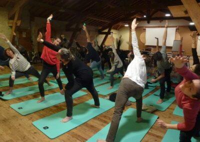 7) Eveil matinal en mode Yoga