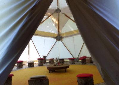 8)Le Dôme et son cercle pour échanges et partages d'experience